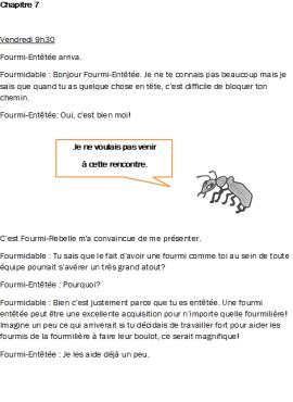 Fourmi-Entêtée